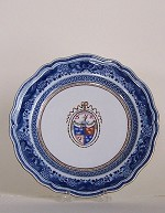 ARMS OF GORDON  DINNER PLATE