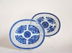 RETICULATED  OVAL  TRAYS
