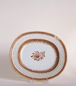RETICULATED OVAL TRAY